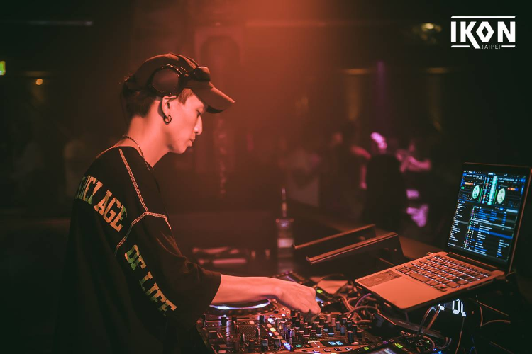 IKON TAIPEI 駐店DJ