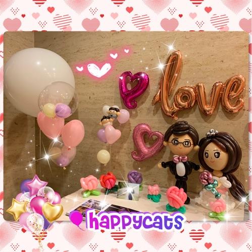 婚禮氣球佈置 (Photo Booth)