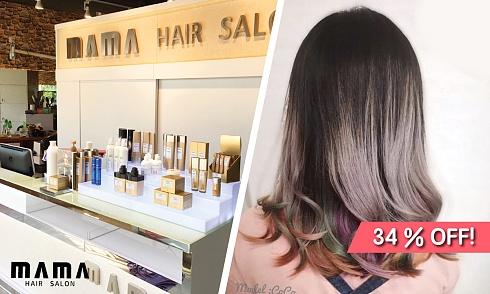 【34% OFF】$580 Hair Ma Ma 日本Fiole 霧粉染髮連洗剪吹造型-banner