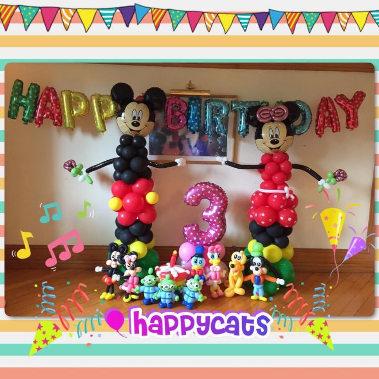 生日會氣球佈置