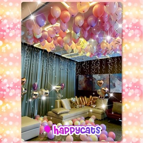 求婚氣球佈置