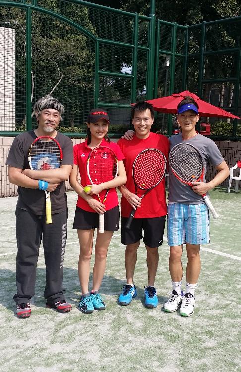 Ex-Hong Kong Team tennis boy/girl representative