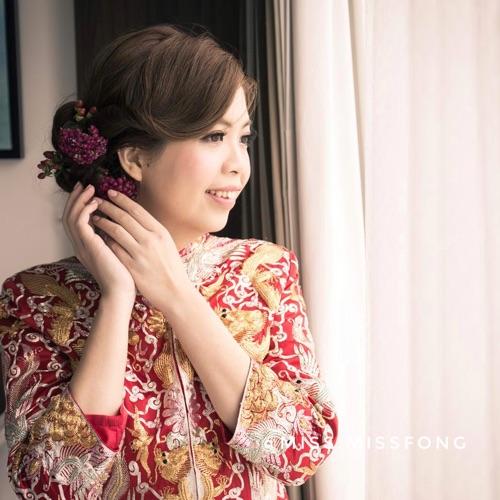 婚禮新娘化妝髮型服務