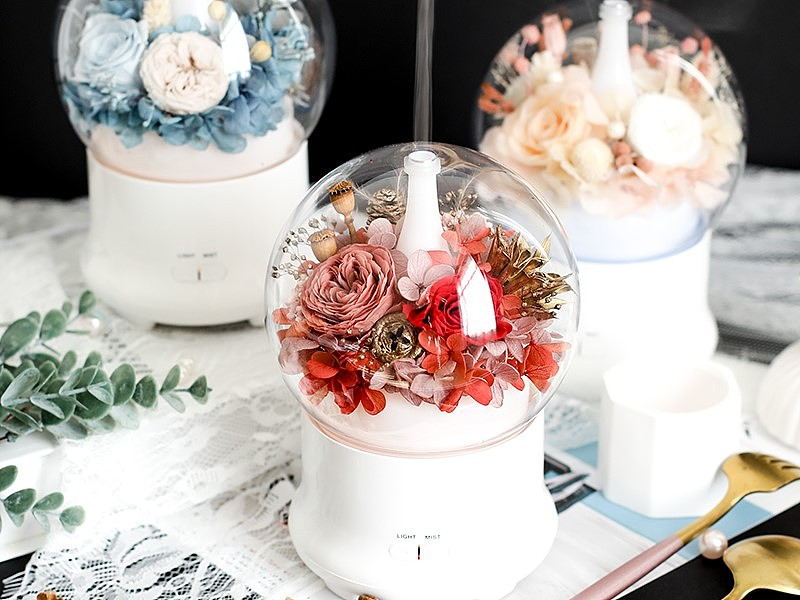 【Exclusive 20% Off】Preserved Flower Humidifier Workshop