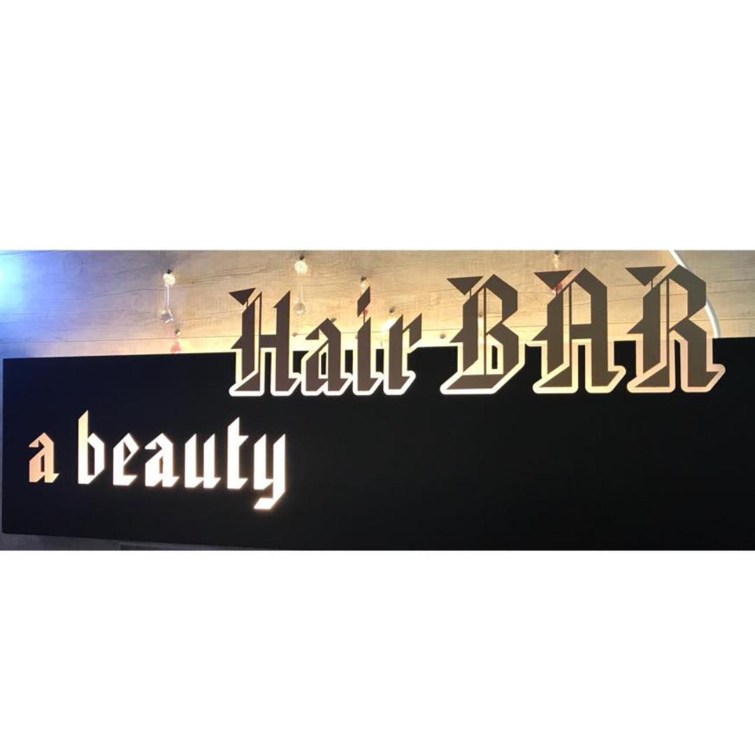 A beauty HAIR BAR