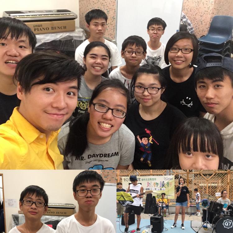 社區中心 樂隊訓練 和表演