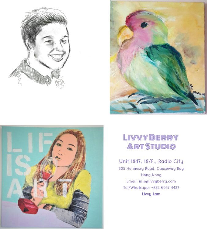 Drawing / painting of portraits classes