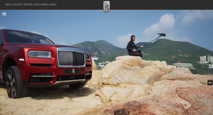 ROLLS-ROYCE MOTOR CARS HONG KONG Website