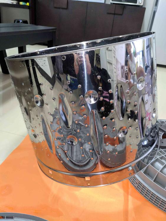 直立式洗衣機清洗 4
