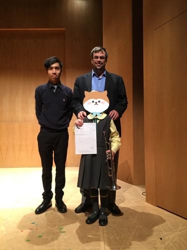 校際鋼琴伴奏 學生獲第二名