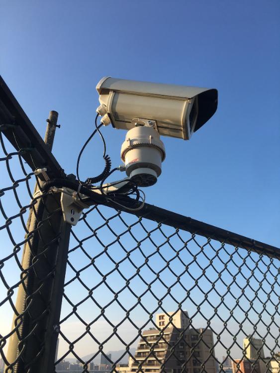 高畫質監視攝影機依需求可搭配雲台