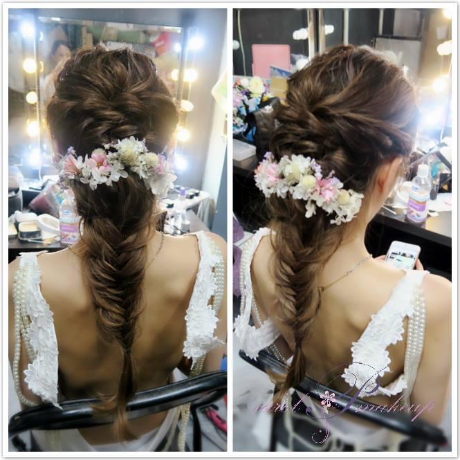 新娘化妝 新娘髮型 Wedding Makeup