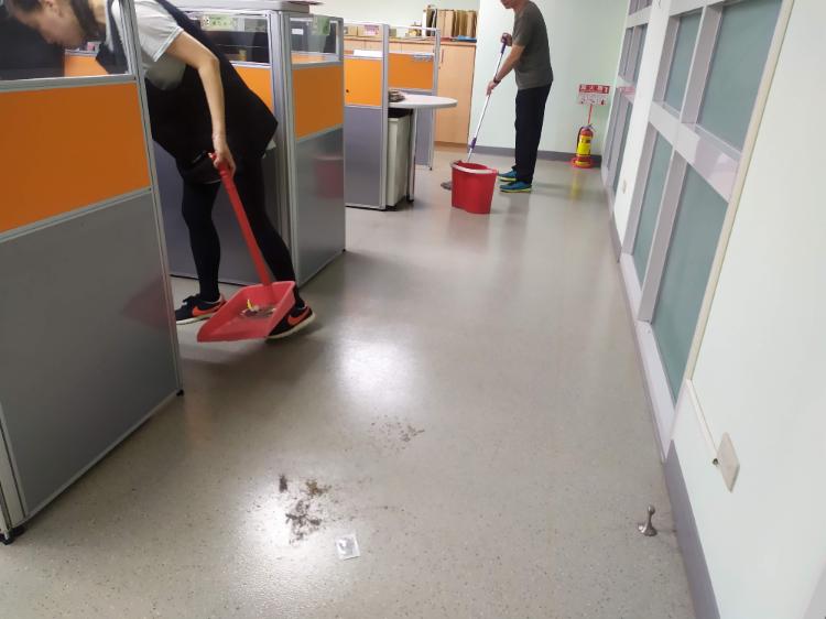 辦公室清潔打掃