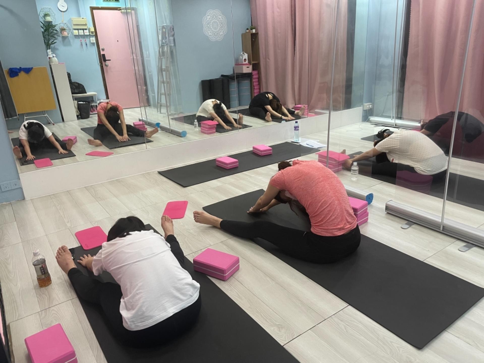 伸展瑜伽班,適合初學者