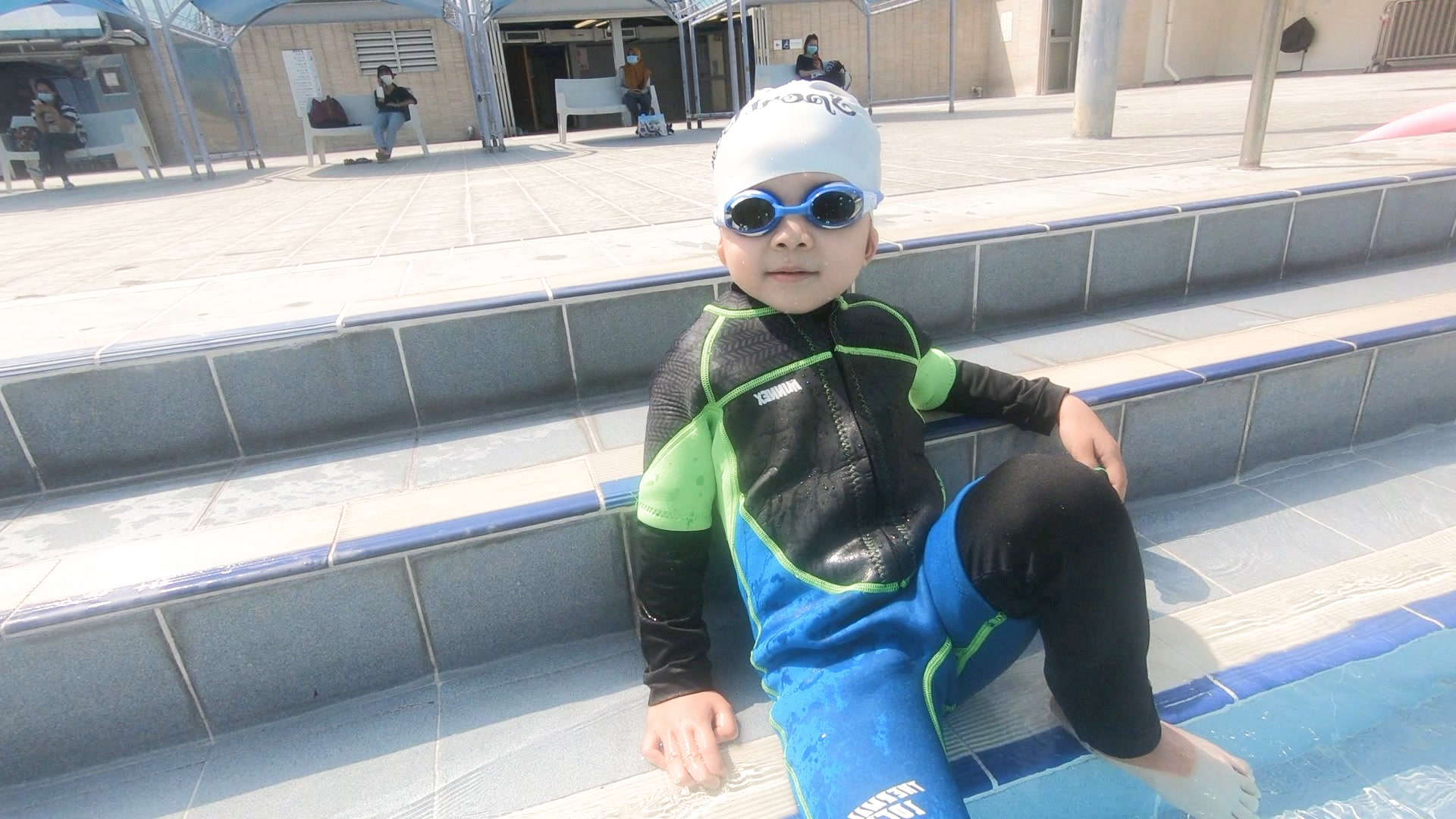 原來可以咁型,快d游到個25m啦 #游到仲型🎥 有意報名請聯絡 游泳健身教練Ching Hei  ☎️致電: +852 96848781 按以下鏈結在whatsapp 查詢或預約 https://api.whatsapp.com/send?phone=85296848781