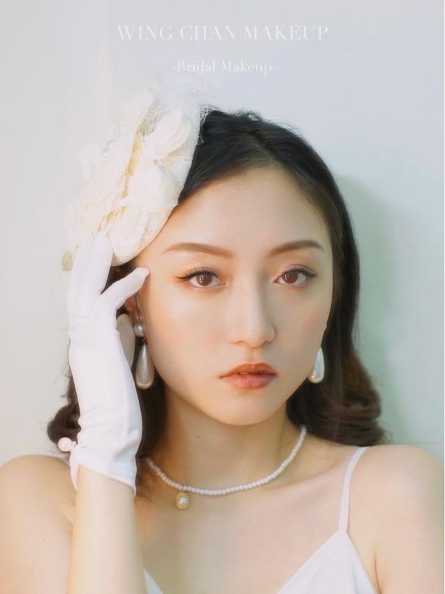 Make up by Wing Chan Makeup (如需化妝服務請直接WhatsApp 68977082)