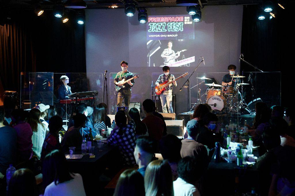 Free Space 爵士音樂節 Victor Chu Group 演出照片