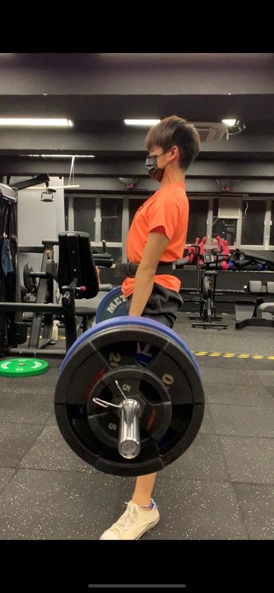 健力學生 62kg成功做到150kg硬拉
