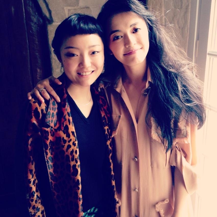 Photo shoot with Yao Chen