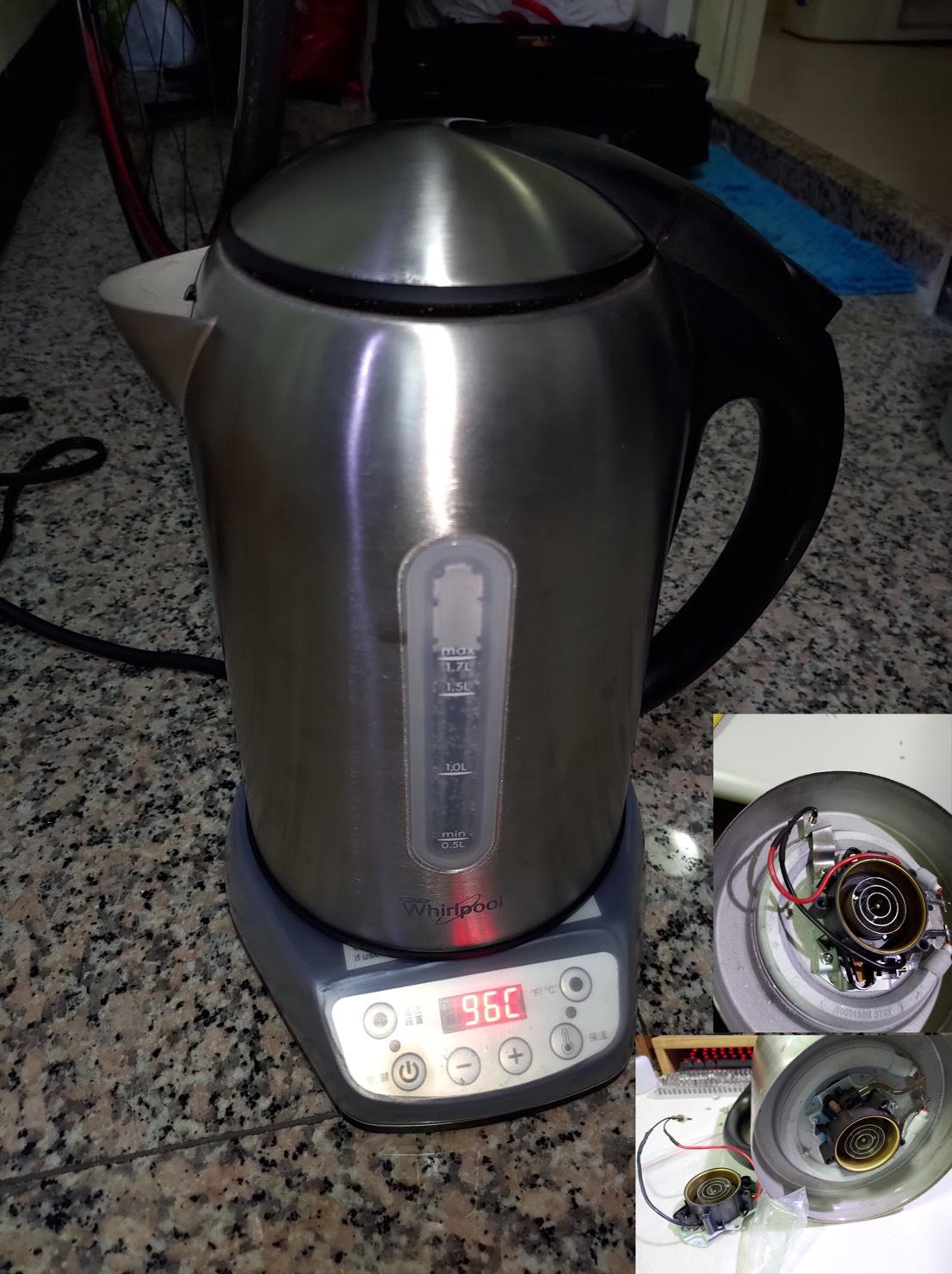 智慧溫控熱水壺維修改裝