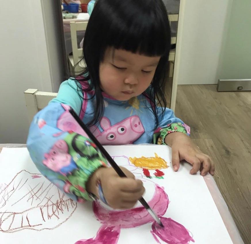 教幼兒畫班