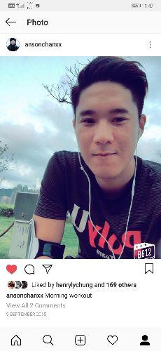 香港游泳代表隊丨Anson Chan