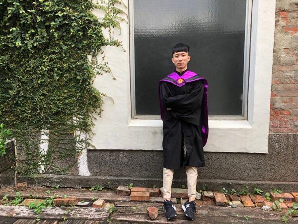 畢業於國立臺灣師範大學...