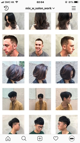 hair stylist Mix
