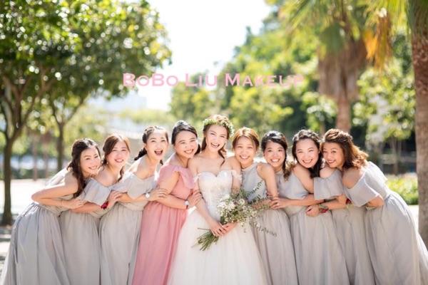 專業新娘化妝髮型,姐妹妝,宴會妝⋯