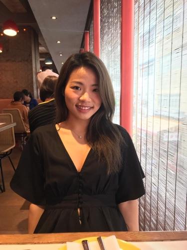 Makeup artist Olivia Lee