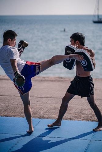 健身 打拳都可以